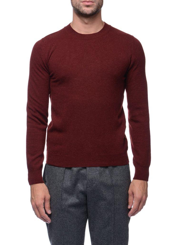 Federico Curradi - FW16- Menswear // Red sweater in wool and alpaca