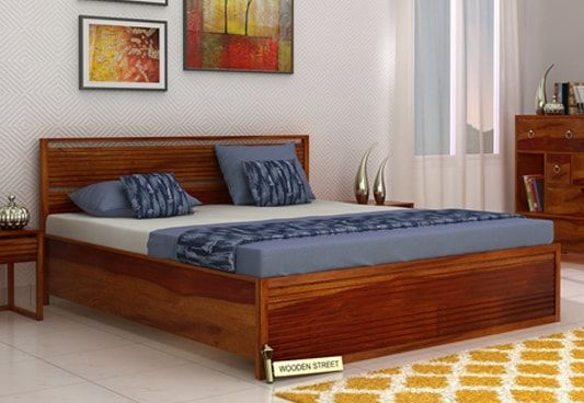 Buy Costas Hydraulic Bed online available in King Size with Honey Finish to complement your bedroom interior. The hydraulic storage beds are smart choice to make as they resolve the storage problem with that hydraulic storage space. Get hydraulic storage bed online in #Bangalore #Mumbai #Pune #Delhi