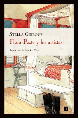Flora Poste y los artistas de Stella Gibbons
