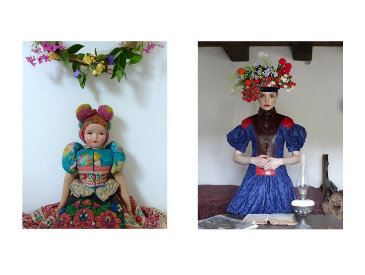 As a child I loved these dolls in their pretty traditional costumes and porcellain faces! (from Hungary) And I even had one! I guess that is what I do now: pretty Piroshka dolls! https://www.facebook.com/piroshkafashion