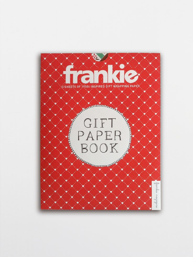 Frankie Gift Paper (wrap) Book