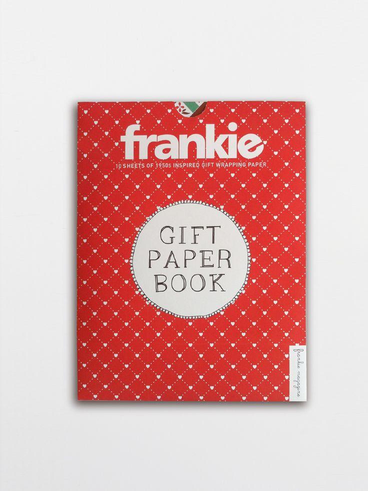 Gift Paper Book : frankie press, frankie magazine, Smith Journal
