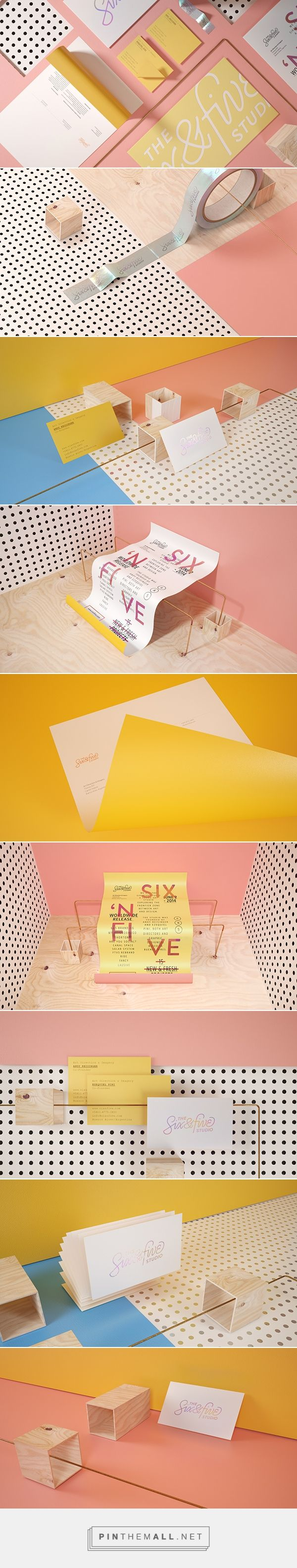Six N. Five Art Studio Self Branding | Fivestar Branding Agency – Design and Branding Agency & Curated Inspiration Gallery