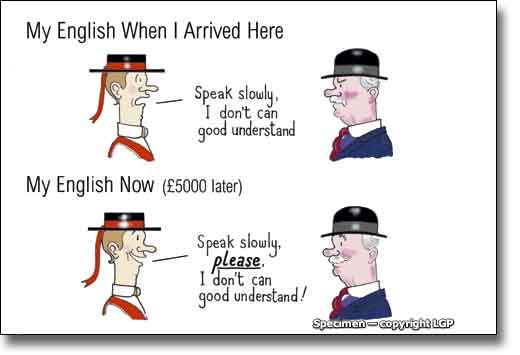 how to say hi in british english