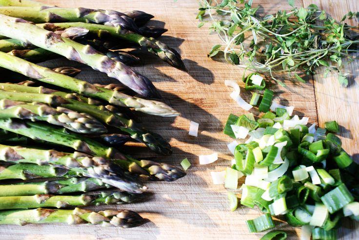 Green Asparagus Tarte