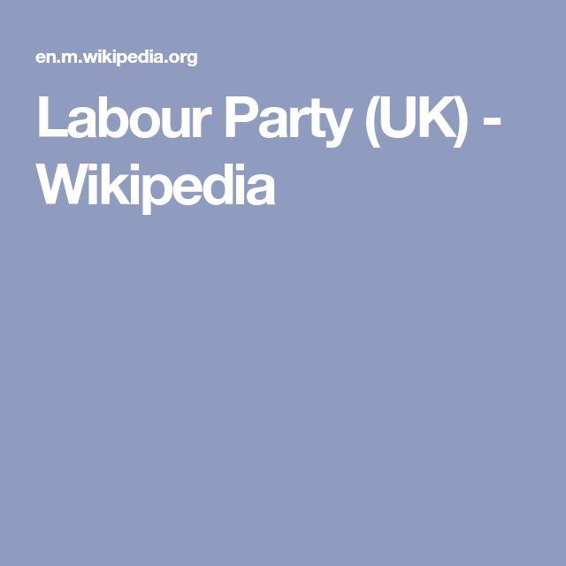 Labour Party (UK) - Wikipedia