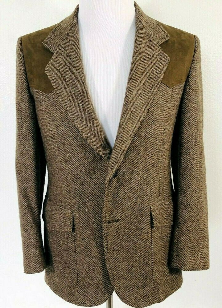 VTG Pendleton 38 Wool Western Sport Coat Jacket Blazer