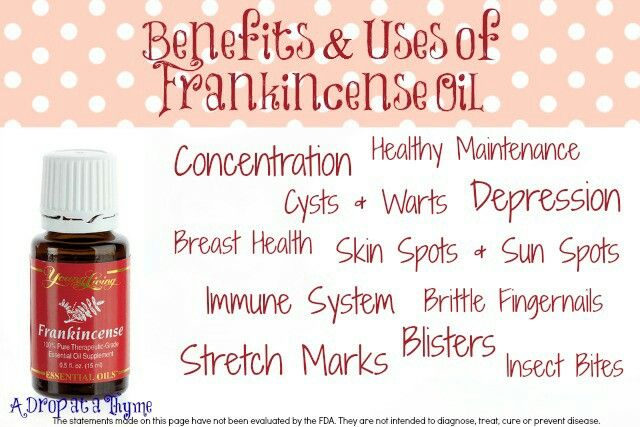 Benefits of frankincense on skin