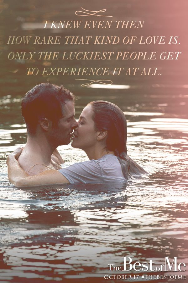 Based on Nicholas Sparks' bestselling novel, The Best of Me is a love story starring James Marsden and Michelle Monaghan. In theaters now! Share with your friends and click to get tickets!