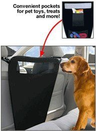 BUY NOW Backseat Pet Barrier Keep Your Pet Safe Keep your dog safe in the backseat of your car while you re driving