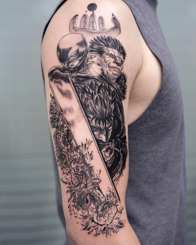 A Different Take On Some Ink Berserk Geek Tattoo Cool Forearm Tattoos Badass Tattoos