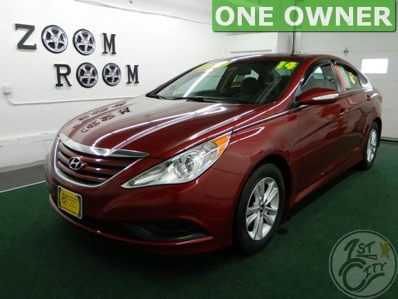 This week our friendly dog Otis sniffed out this 2014 Hyundai Sonata GLS!         Visit our 16 Milton Road store in Rochester and test drive this ONE OWNER 2014 Hyundai Sonata GLS! With only 55,000 miles, this Sonata is priced at $12,875! While you're here, ask our non-commissioned Sales Staff about our GUARANTEED FINANCING!!!