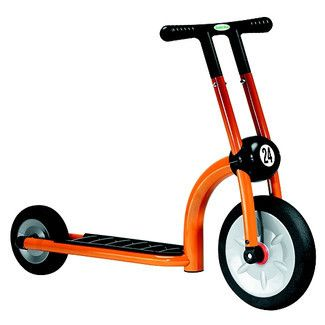 Italtrike Pilot 200 Two-Wheeled Scooter - Orange - 200-11