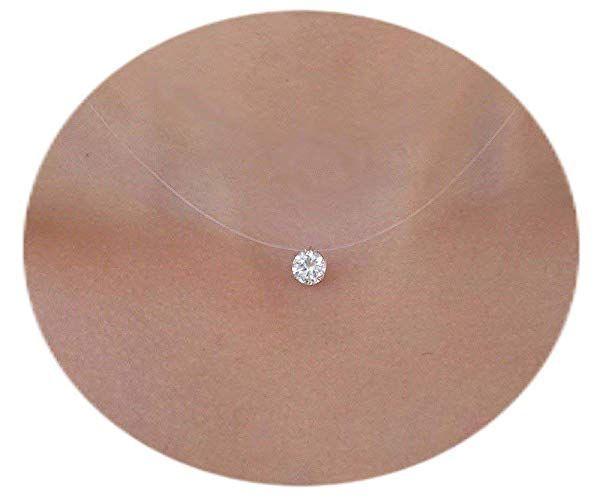 collier ras de cou femme diamant
