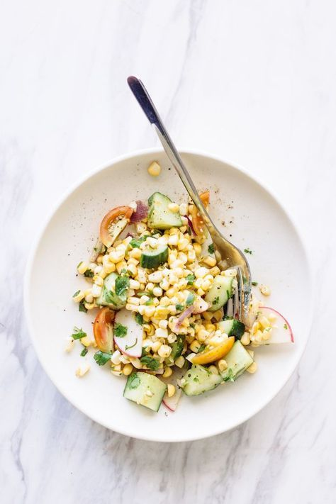 fresh cilantro corn salad