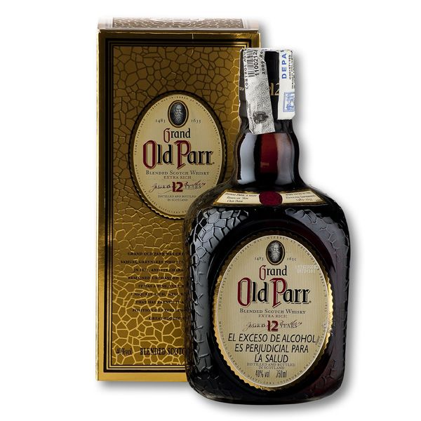 Whisky Old Parr 12 A Botella x 750ml