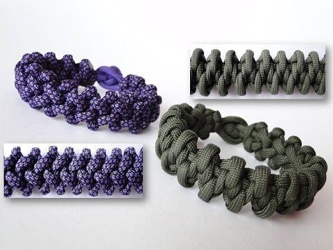 how to make a loop knot for bracelets