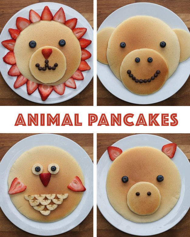 Animal Pancakes https://www.facebook.com/shorthaircutstyles/posts/1759822097641563