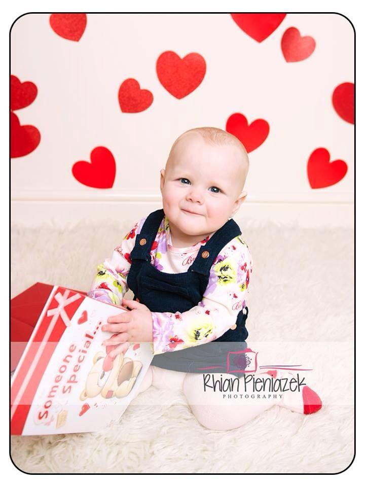 Valentine Toddler. Rhian Pieniazek Photography 2014.