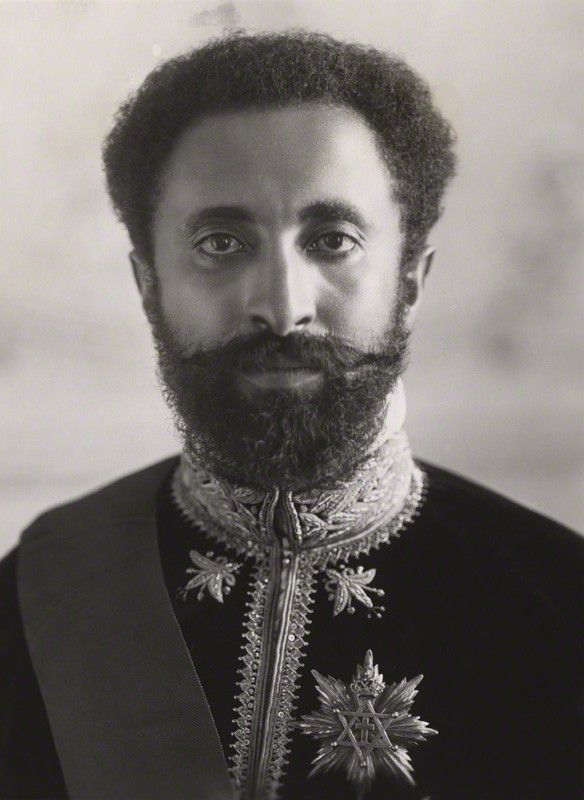 1930 – Haile Selassie is crowned emperor of Ethiopia. | Haile Selassie I, Emperor of Ethiopia, by Bassano Ltd, circa 1930 ...