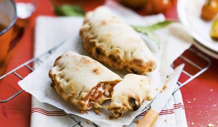 2 calzones tomate mozzarella surgelés - Les entrées, tartes et salades - Picard