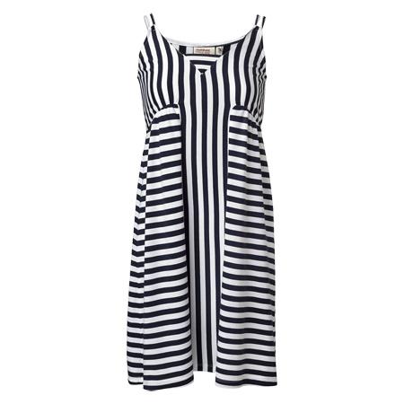 DOBBER - Kajsa striped dress #MQ #Mqfashion