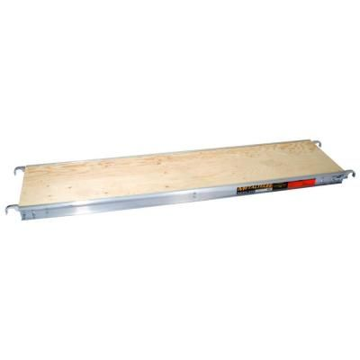 MetalTech 7 ft. x 19 in. Aluminum Scaffold Platform with Plywood Deck-M-MPP719 at The Home Depot