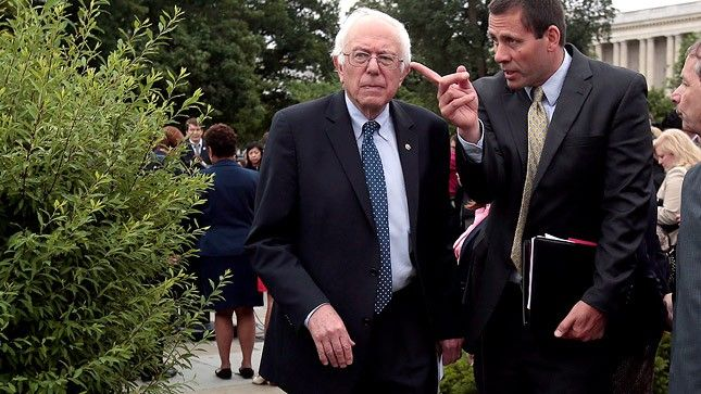 Sanders: I was ahead of the curve on gay rights   TheHill