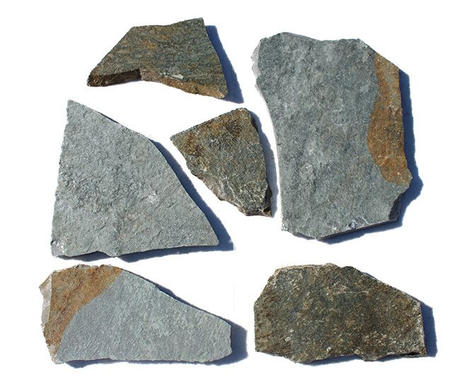 Crazy paving stone Karystou green  is an excellent choice for laying a flagstone patio and is an ideal solution for applications where flagstone pavers are required. Karystos stone or Karystou stone may also be used as garden stepping stones.  Using crazy stone Karystou green  may give life and another dimension to any building or garden architecture.