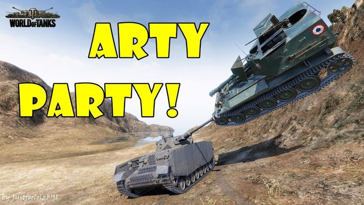 World of Tanks - Funny Moments | ARTY PARTY! #49