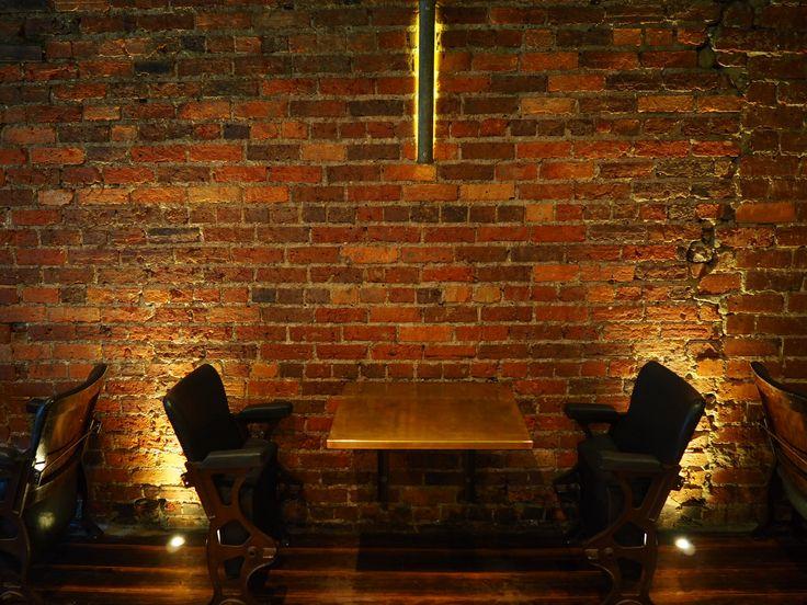 pilgrim coffee tasmania hobart cafe interior design industrial cinema chairs