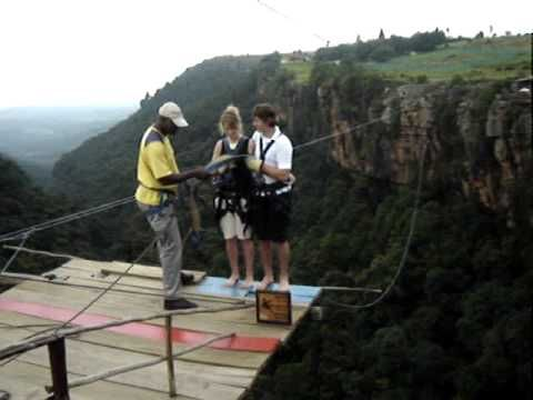 Would you take the plunge on the Big Swing? (In Graskop, South Africa)