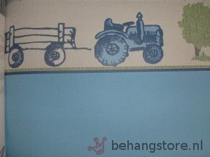 behang tractor