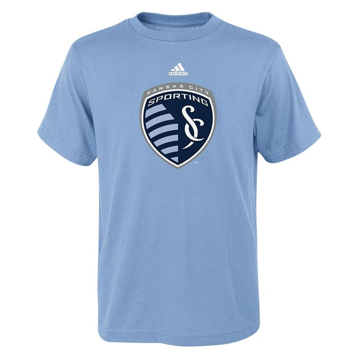 Adidas Sporting Kansas City Primary Logo Tee - Boys 8-20, Size: Medium, Ovrfl Oth