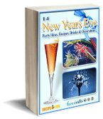Your one-stop shop for an awesome New Year's Eve!  Find 14 New Year's Eve Party Ideas, Recipes and Drink Recipes in this free eBook!