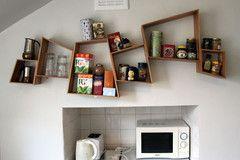 Funky looking shelves
