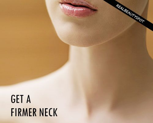 HOME REMEDIES TO GET A FIRMER NECK