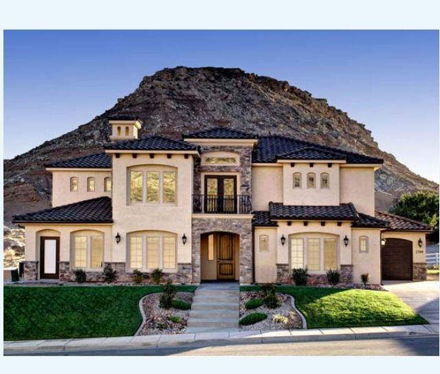 706 best images about home design exteriors front on for Utah house