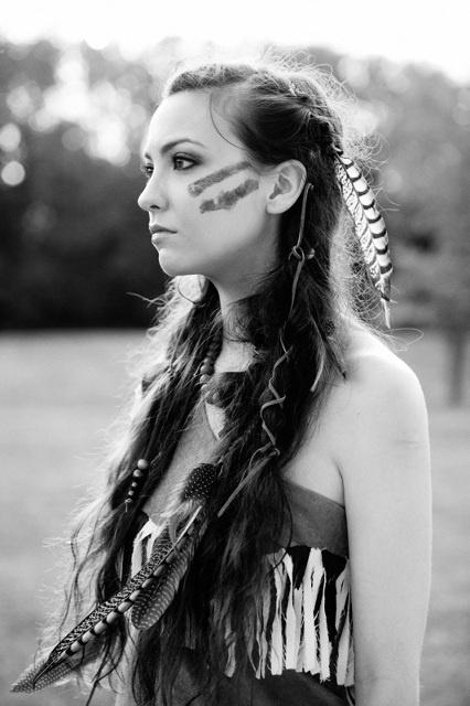 Pocahontas inspired shoot.