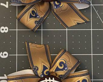 Leones de Detroit muestras mezcladas arco por CraftyCreationsByKG