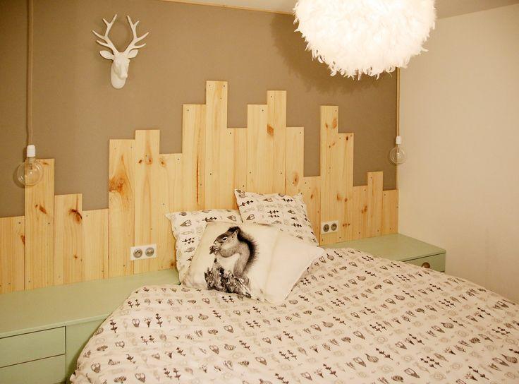 30 best images about diy t te de lit en bois on pinterest coins moma and small apartments. Black Bedroom Furniture Sets. Home Design Ideas