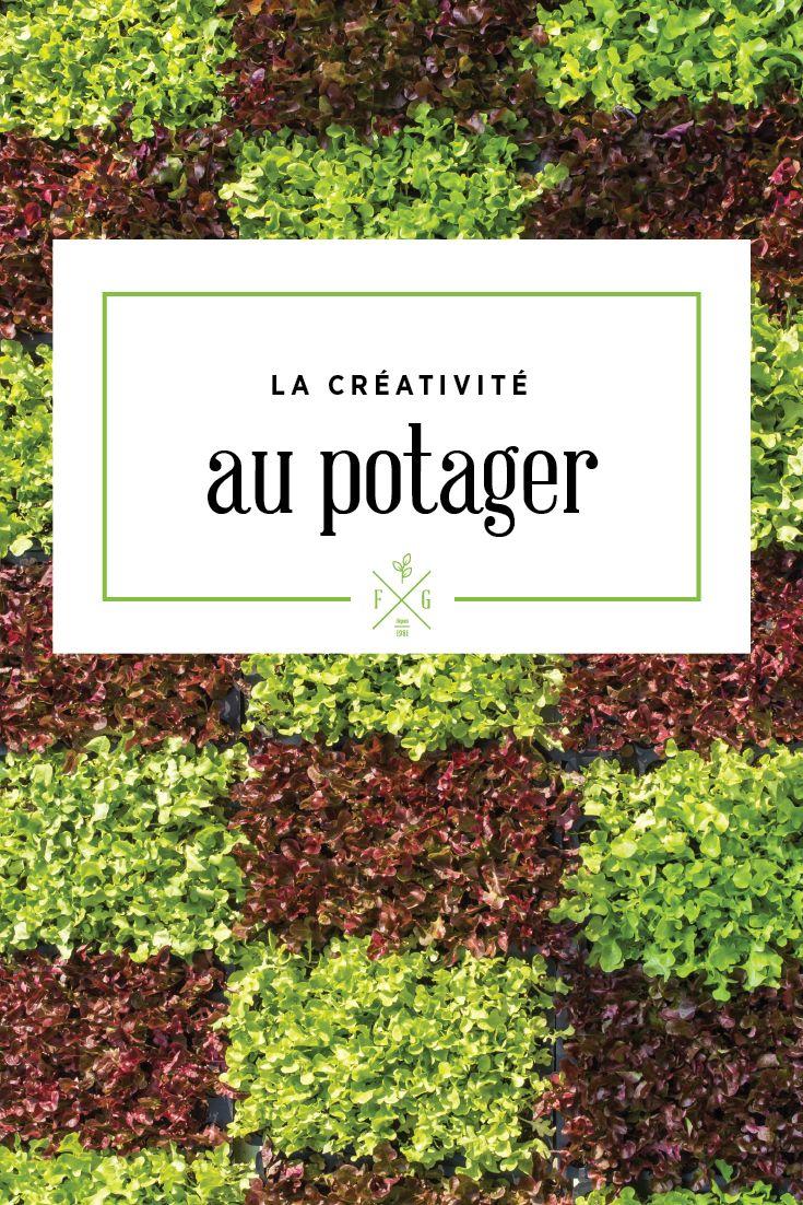 Des idées créatives pour le potager (fruits, légumes et fines herbes). La Ferme Grover, Laval