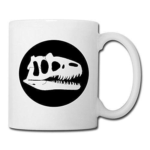 UniqueCool White Cups Jurassic Park Logo Sam Neill B D Wong Custom Mugs Ceramic Travel Mug @ niftywarehouse.com #NiftyWarehouse #JurassicPark #Jurassic #Dinosaurs #Film #Dinosaur #Movies