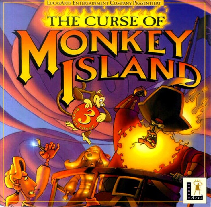 The Curse of Monkey Island (#3)