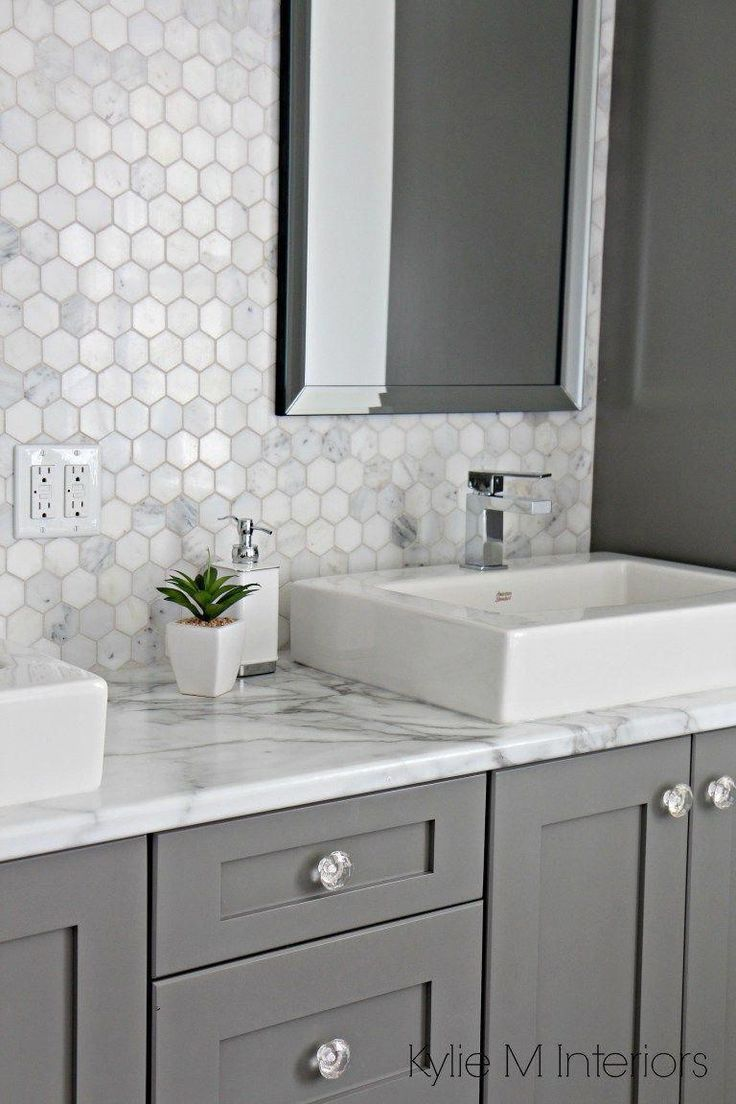 i am seriously digging this shape and installation on replacement countertops for bathroom vanity id=53907