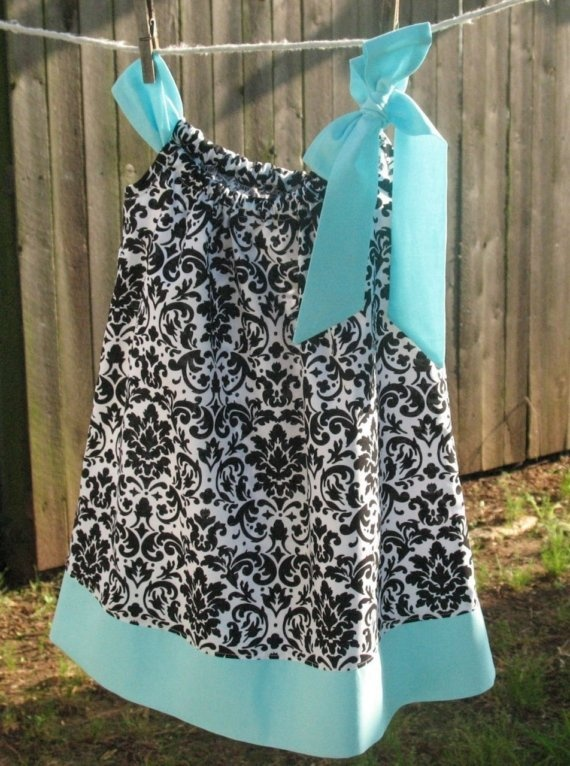 Tiffany's Pillow Case Dress by maddiebee123 on Etsy, $20.00