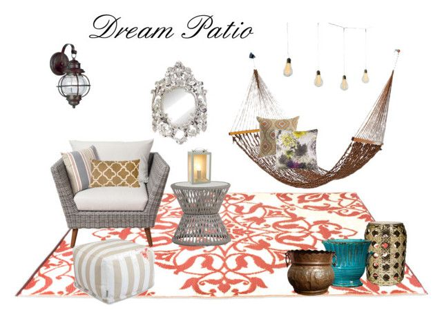 Dream Patio 2017 by jennyzellerlutes on Polyvore