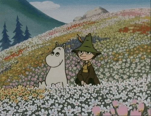 I love Snufkin, but I don't think Moomin is good enough for him :(