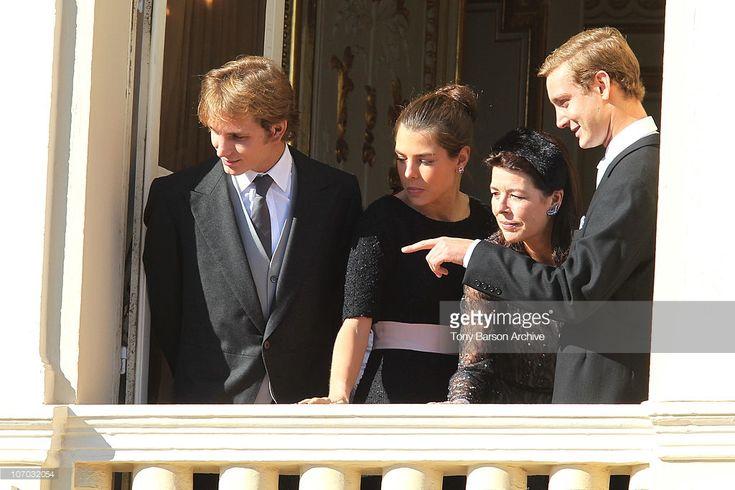 News Photo : Andrea Casiraghi, Charlotte Casiraghi, Princess...