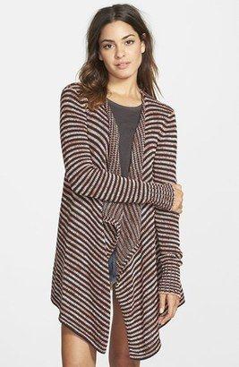 Volcom 'Swayed' Stripe Open Front Cardigan - Shop for women's Cardigan